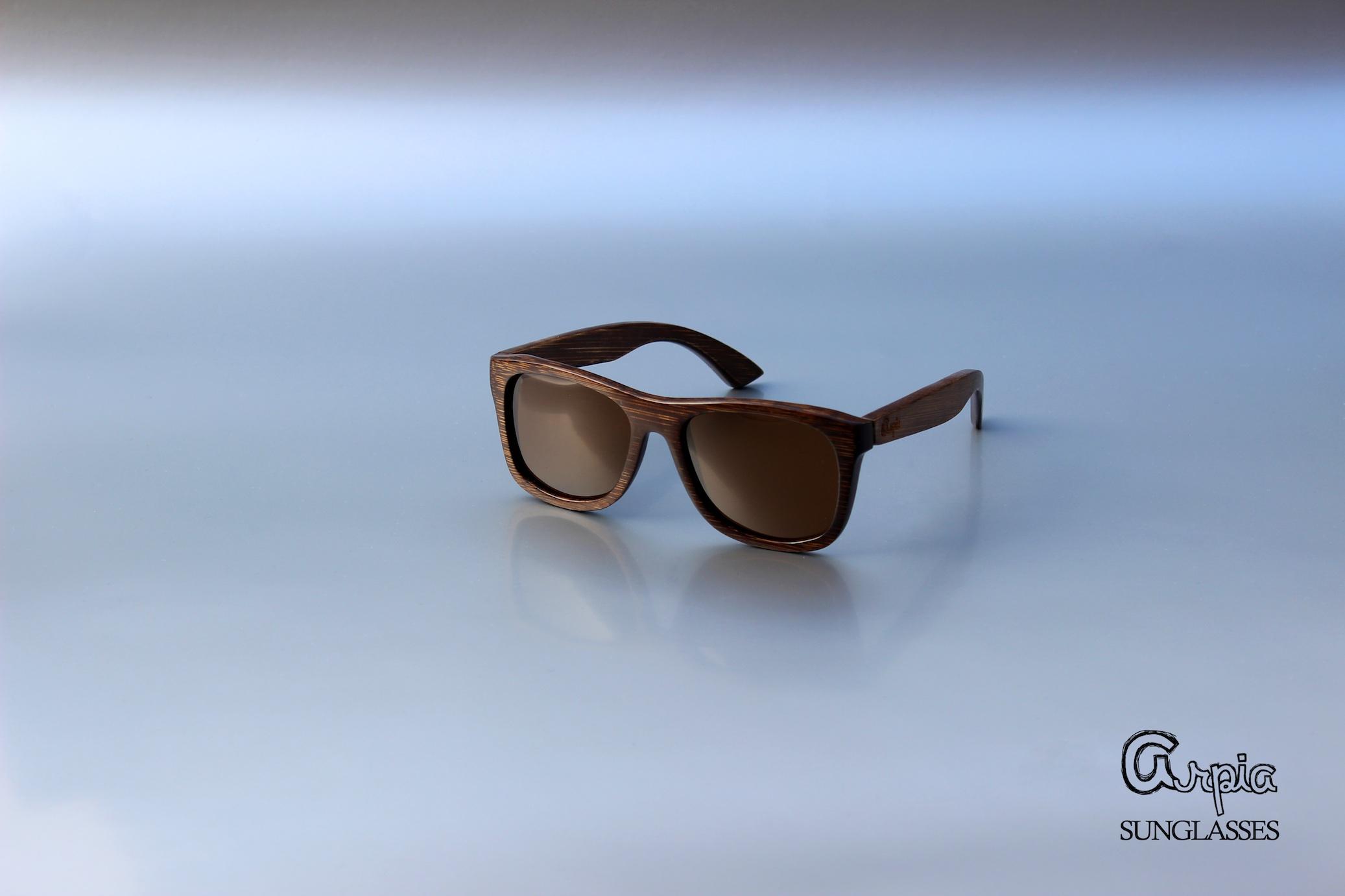 Arpia munich gli occhiali da sole in legno con lenti for Occhiali da sole montatura in legno